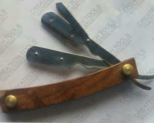 Wood Handle Barber Razors (CT BR205)